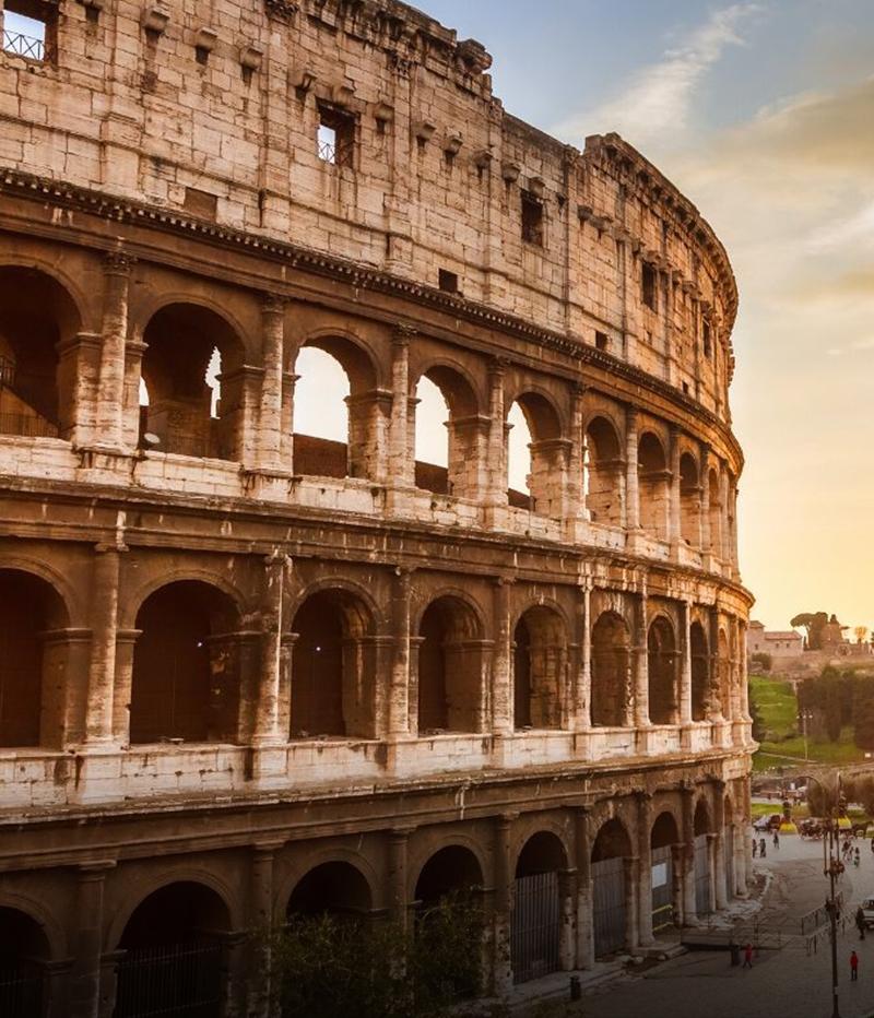 Lo spettacolo del Colosseo