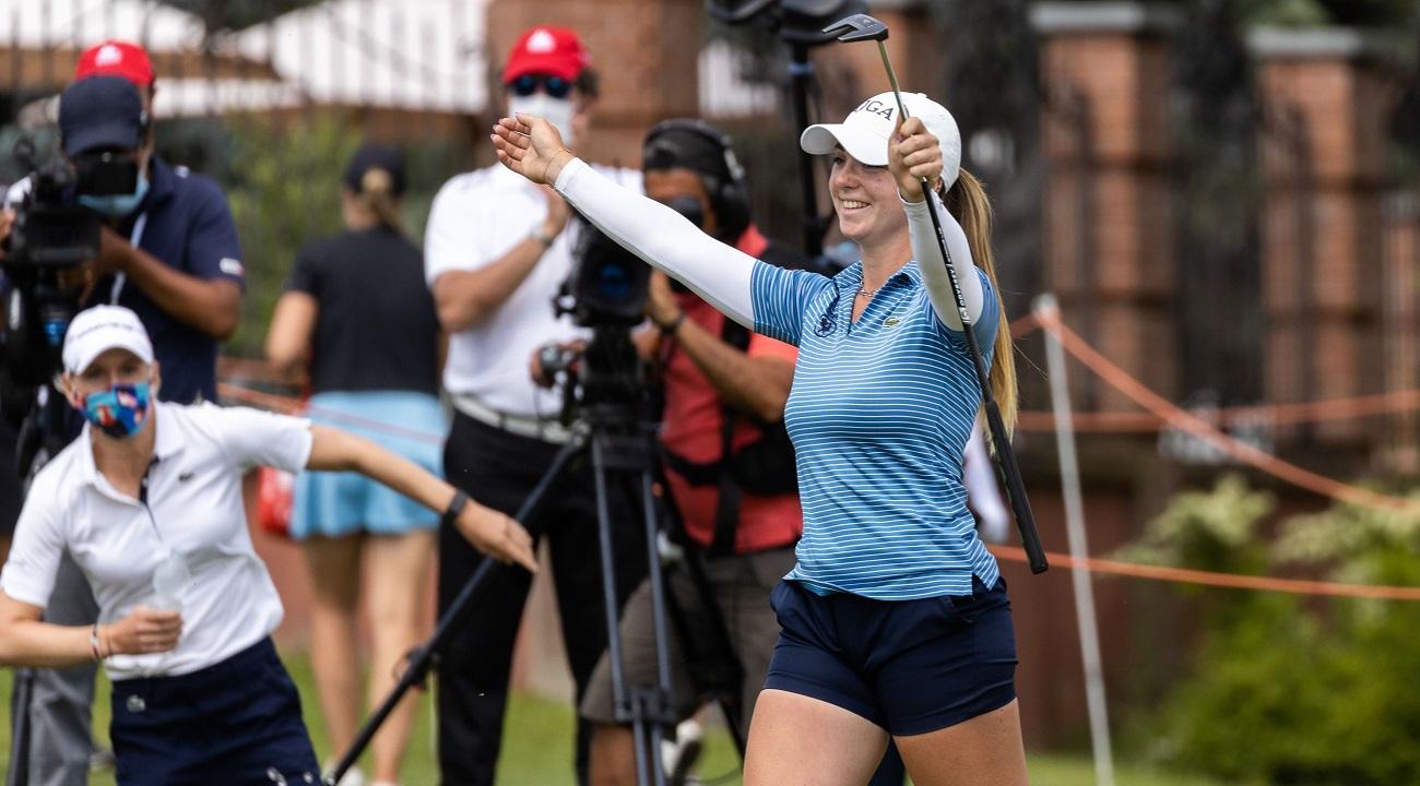 """25° Ladies Italian Open, Lucie Malchirand regina del golf in Piemonte. """"Innamorata dell'Italia"""""""